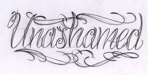 Unashamed sketch
