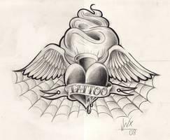 heart sketch new by WillemXSM