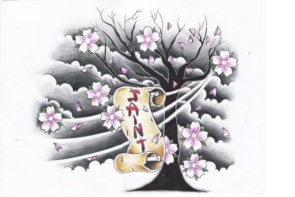 tree cherry blossoms by willemxsm on deviantart