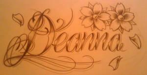 deanna tattoo design by WillemXSM