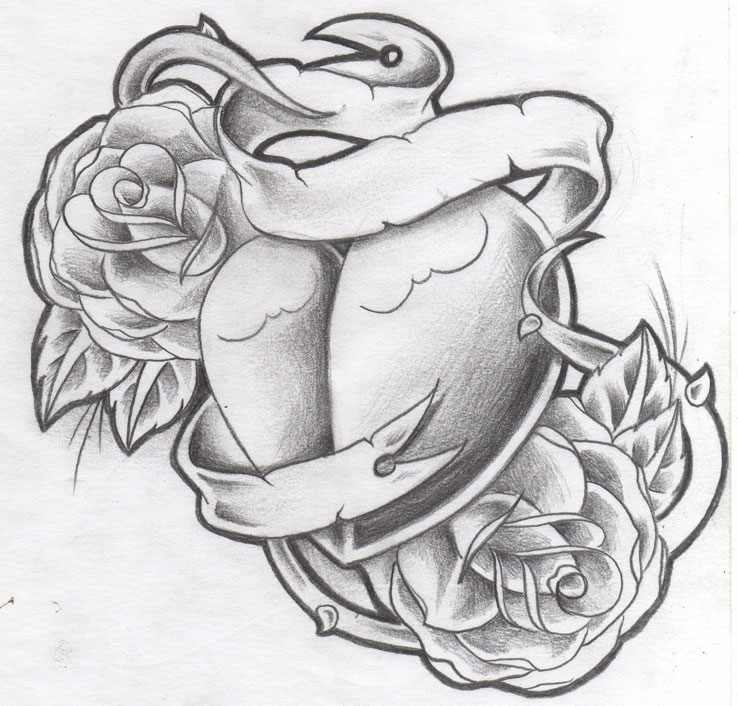 Heart Tattoo Designs Gallery 15