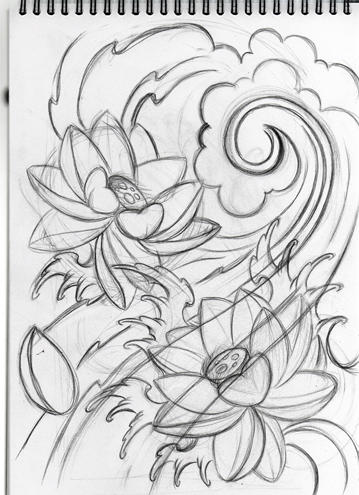 Japanese lotus sketch by willemxsm on deviantart japanese lotus sketch by willemxsm mightylinksfo