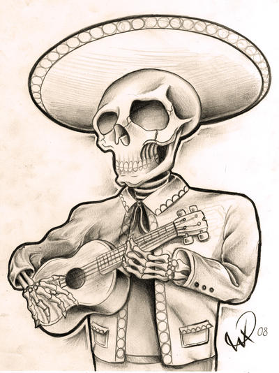 Skeleton tattoo designs are very famous and popular all over the world
