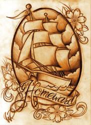 Homeward ship by WillemXSM