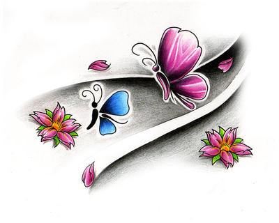Free Tattoo Designs Butterfly
