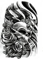 Crow N Skull by WillemXSM
