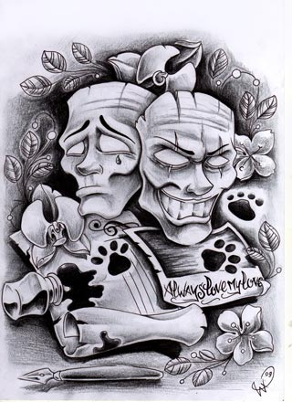 Commission masks by willemxsm