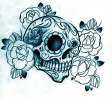 Sugar Skull shirt design by WillemXSM