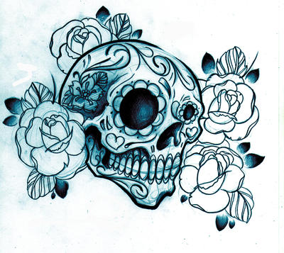 Skull Tattoo Designs 9