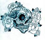 Sugar Skull shirt design