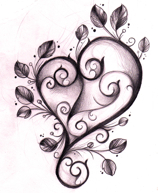 Heart Tattoo Designs Gallery 20