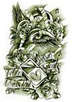 Commission iPod tattoo design