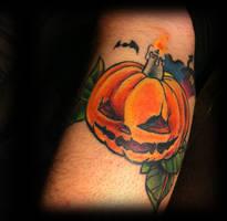 Tattoo in progress by WillemXSM