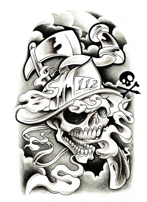 Gredersawer2012 black and grey tattoo designs for Tattoo design black and gray