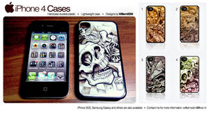 iPhone 4 - 4S Cases - Covers by WillemXSM