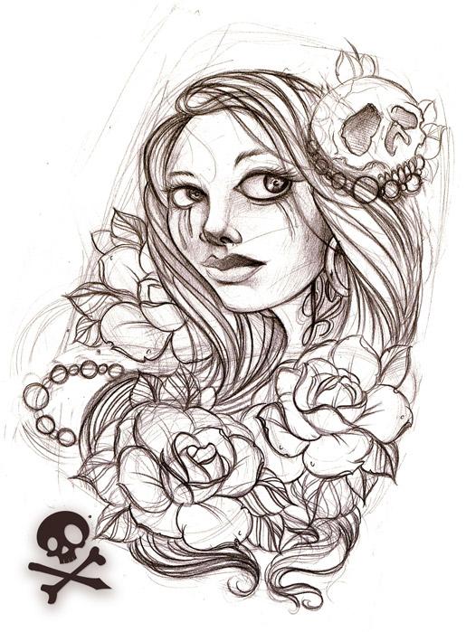corey tattoo design best female tattoo by herbert hodges. Black Bedroom Furniture Sets. Home Design Ideas