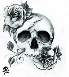 Crispy inspired skull
