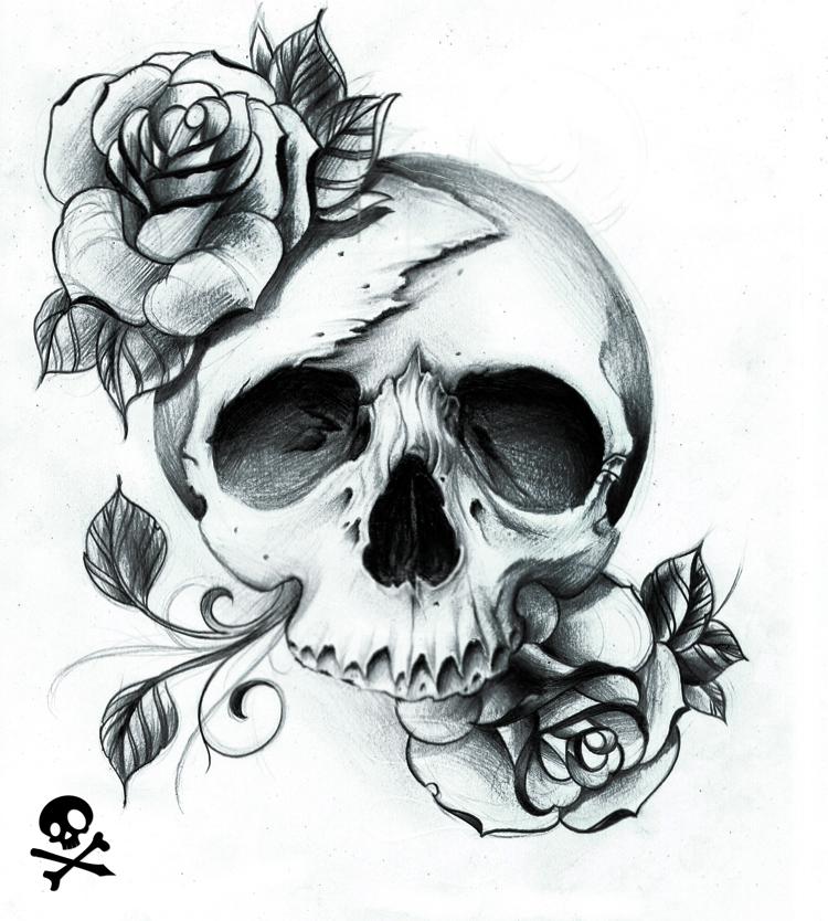 Crispy inspired skull by WillemXSM on DeviantArt