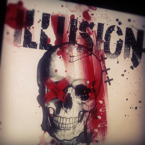 Trash Polka Skull By Mcrdesign On Deviantart: Plkatrsh By WillemXSM On DeviantArt