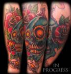 In progress skullroseeyeballcolors