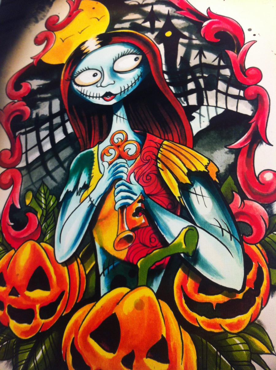 Nightmare before christmas Sally by WillemXSM