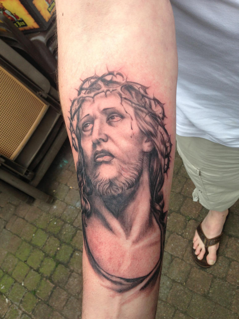 jesus tattoo by WillemXSM on DeviantArt