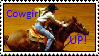 Cowgirl UP stamp by RiverEcho