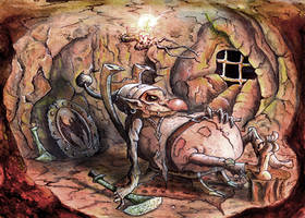 The Goblins Cave by mac2010
