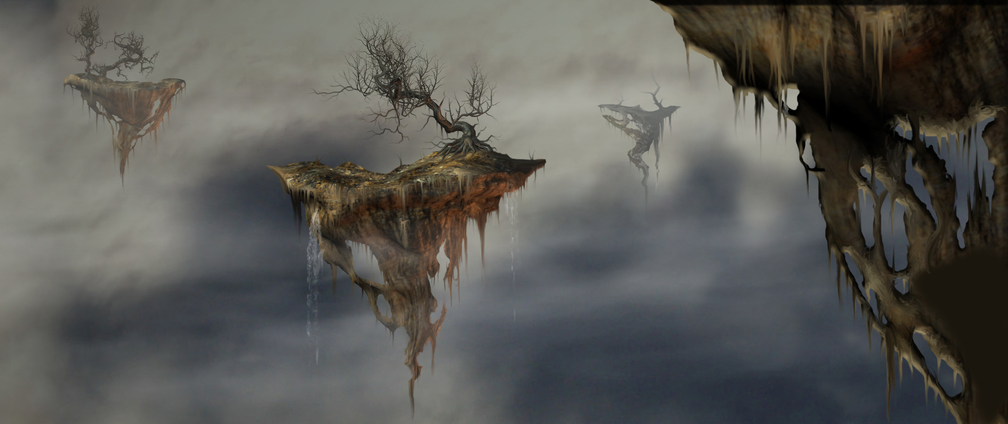 Floating Islands by mac2010