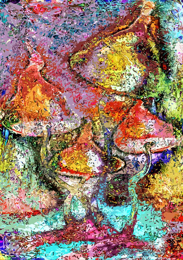 Mushrooms by Don-Mirakl