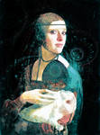 Portrait of a Lady with a Rabbit by Don-Mirakl