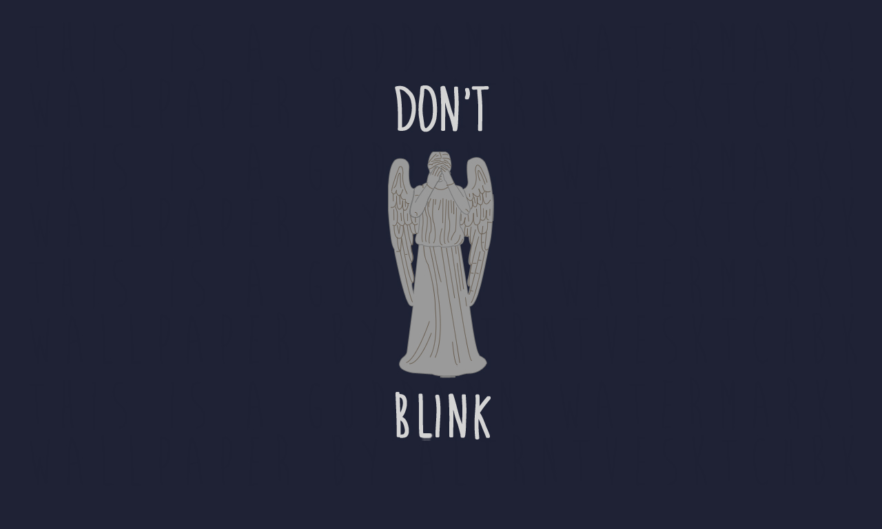 1280x768px weeping angel wallpaper by altrntvesktchbk on