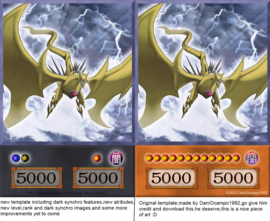 Yugioh Card Template. yu gi oh card template v9 equilibrium monster ...