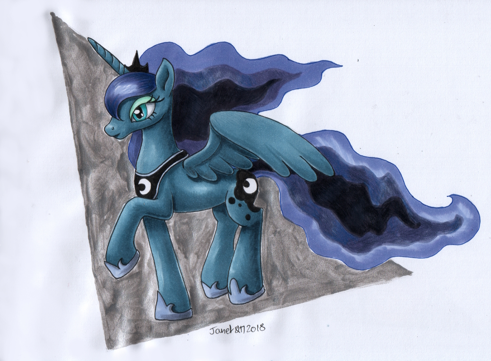 MLP Luna 2018 by andpie
