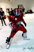 Kamen Rider Accel Cosplay by ShininGSharivaN