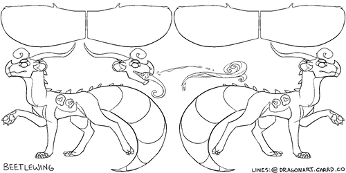 F2U BEETLEWING BASE (TRANSPARENT)