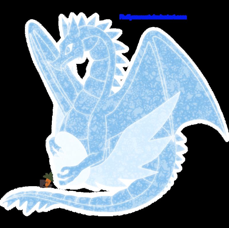 IceDragon by fluffycawwot