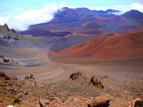 Mount Haleakala Valley