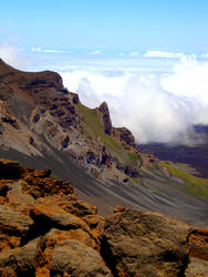 Mount Haleakala Ridge by ChemDiesel