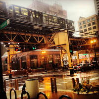 Chicago Rain by ChemDiesel