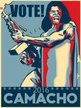 Vote President Camacho 2016!