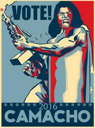 Vote President Camacho 2016! by ChemDiesel