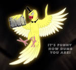 Bill Cipher bird