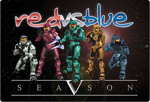 Red vs. Blue by alimination602