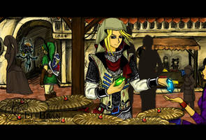 X.OVER @ One day in Hyrule...