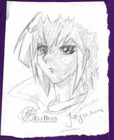 Sketchbook pg.19 - Solemn by ElfBean