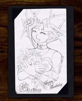 Sketchbook pg.27 - Birthday Smile
