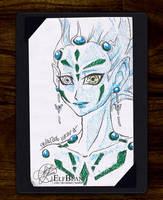 Sketchbook #29 - Astral by ElfBean