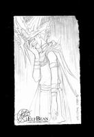 Sketchbook #40 - Loss by ElfBean