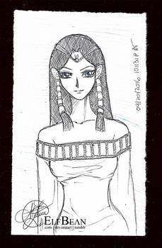 Sketchbook #41 - Sibyl